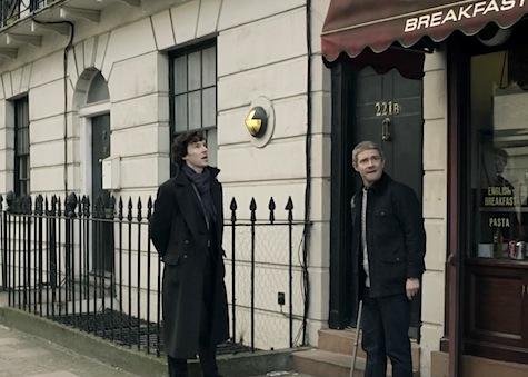 187 Gower Street, Sherlock