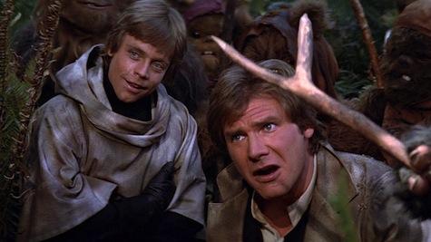 Luke Skywalker, Return of the Jedi, Star Wars, Han Solo