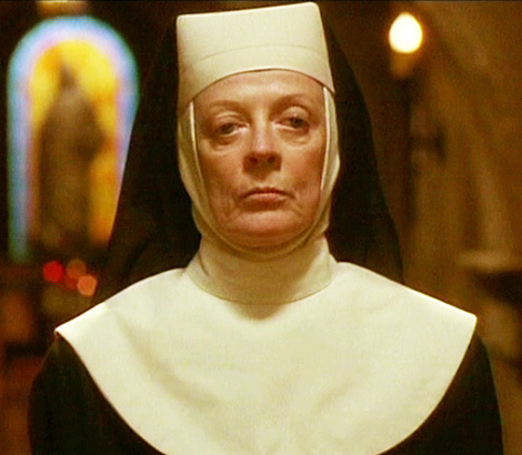 Only erstwhile witch/nun/Hogwart's professor Maggie Smith truly understands me...