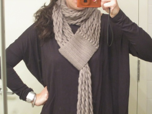 And cable knit!