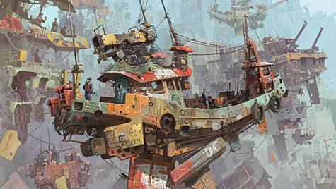 Ian McQue, Entering Sky Harbor
