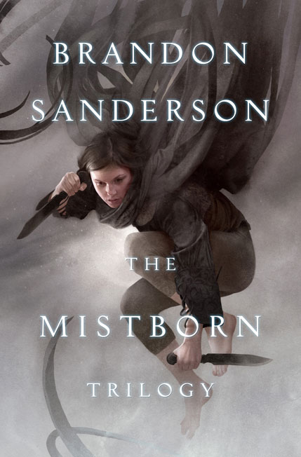 Mistborn Trilogy ebook art by Sam Weber