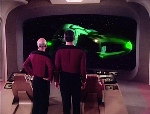 Star Trek: The Next Generation episode The Neutral Zone