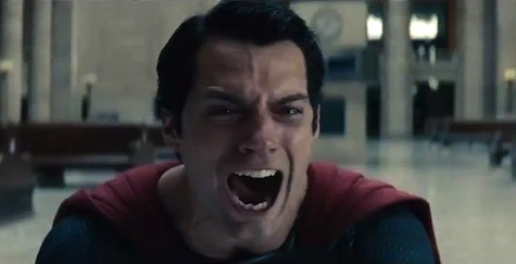 Man of Steel, Superman scream