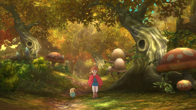 Ni No Kuni: Wrath of the White Witch is gorgeous (and coming to North America!)