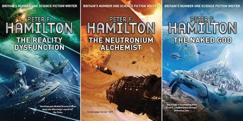 Nights Dawn trilogy Peter F Hamilton