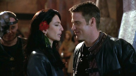 Farscape: The Peacekeeper Wars, Crichton, Aeryn