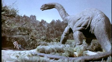 Dinosaurs In Space Brontosaurus