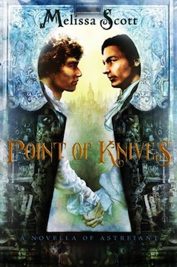 Point of Knives cover by Melissa Scott