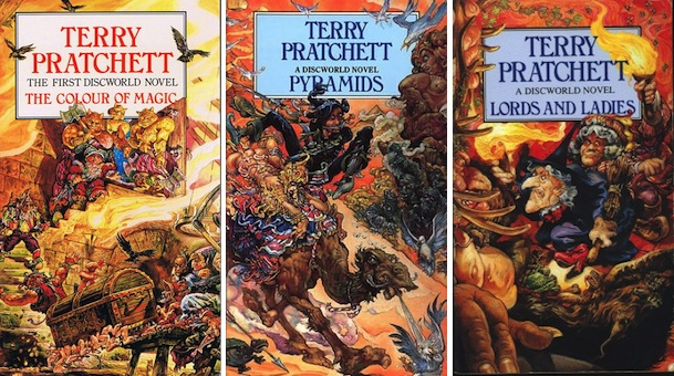 Terry Pratchett Josh Kirby covers