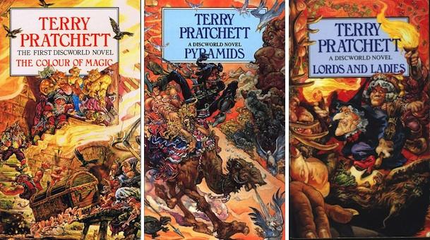 Terry Pratchett Josh Kirby covers