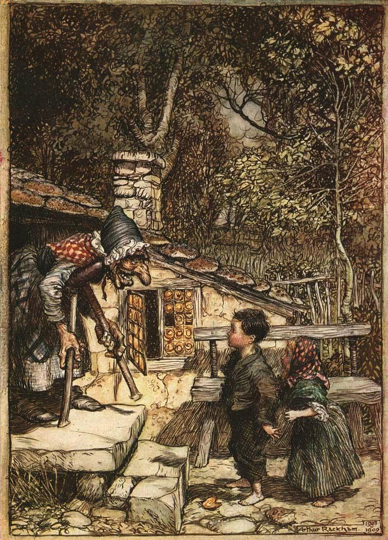 Hansel and Gretel Arthur Rackham