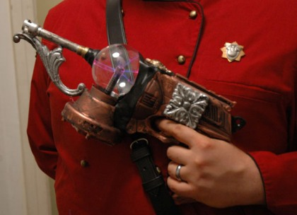 Building your own steampunk raygun