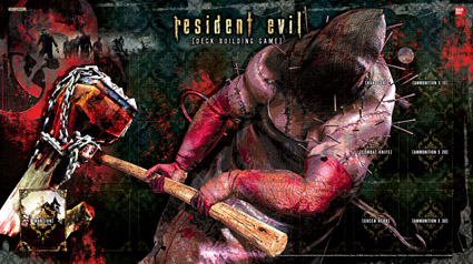 Resident Evil deck-building game
