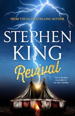 Stephen King Revival UK cover