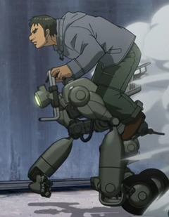 Science Fiction and Fantasy Anime: RideBack