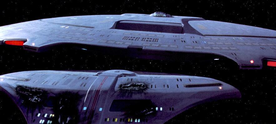 Star Trek TNG saucer separation