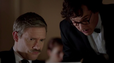 Sherlock, The Empty Hearse, John