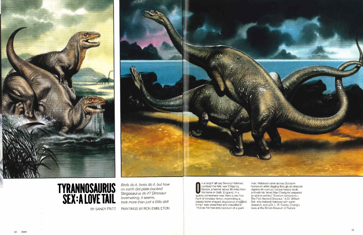 What Was Dinosaur Sex Like