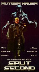 Split Second VHS Cover