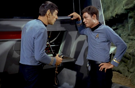 McCoy, Spock, Star Trek