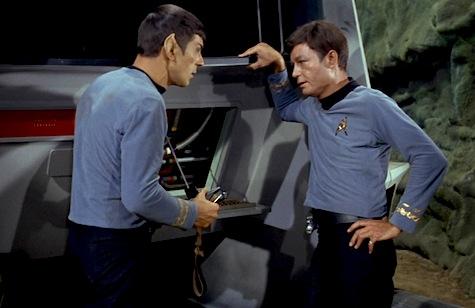 McCoy, Spock, Star Trek