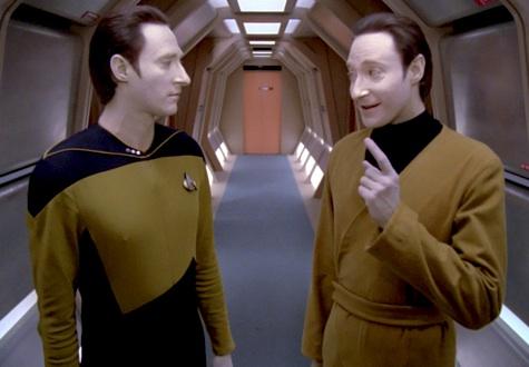 Star TrekL The Next Generation, Data, Lore, Datalore