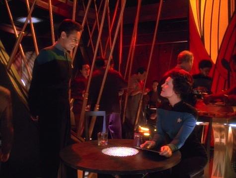 Star Trek Deep Space Nine, Explorers, Bashir, Lense