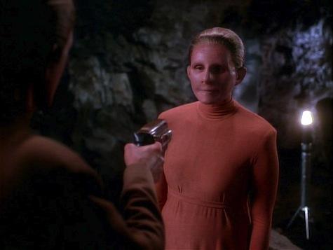 Star Trek Deep Space 9, Heart of Stone, changeling