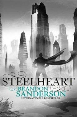 Steelheart Brandon Sanderson UK cover