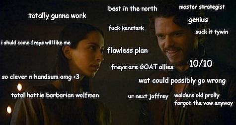 Game of Thrones season 3 A Storm of Swords split