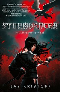 An interview with Jay Kristoff, author of Stormdancer