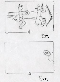 Storyboard from PHOENIX RISING