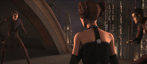 Star Wars: The Clone Wars, Anakin Padme, Clovis