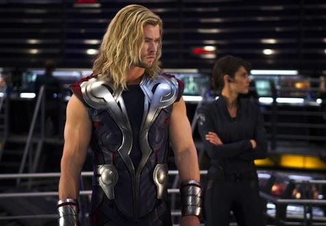 Thor Chris Hemsworth The Avengers