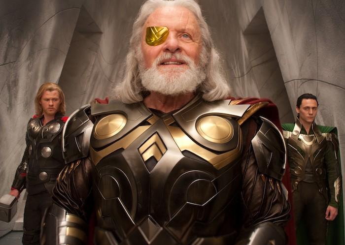 Thor Loki Tom Hiddleston Chris Hemsworth Odin Anthony Hopkins