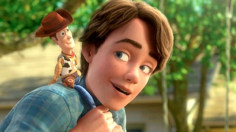 Toy Story 3, Woody, Andy