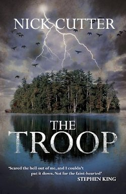Nick Cutter The Troop UK Cover