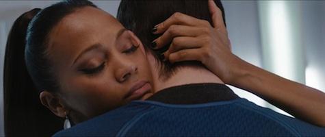 Zoe Saldana Uhura Spock