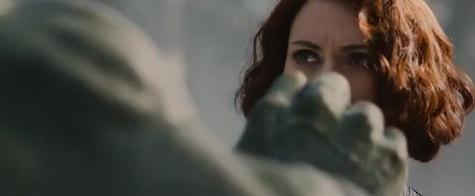 Mark Ruffalo Avengers: Age of Ultron Hulk Black Widow romance