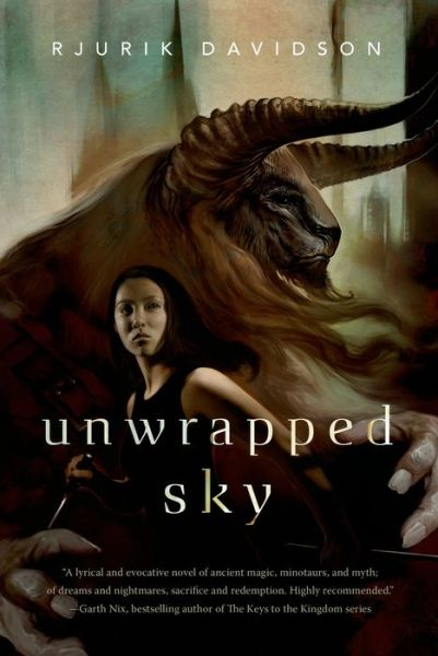 Rjurik Davidson Unwrapped Sky US Cover