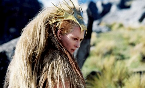 Villain Fashion, White Witch, Lion the Witch and the Wardrobe, Tilda Swinton