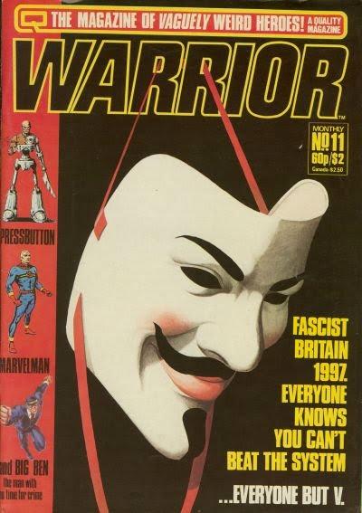 V for Vendetta Alan Moore Warrior