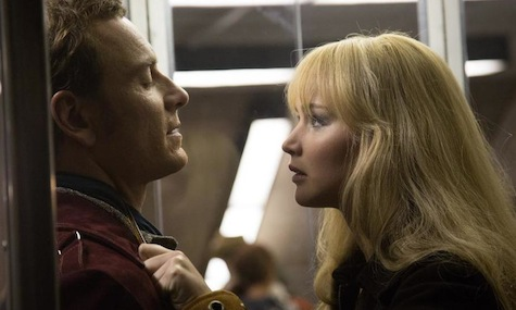 X-Men Days of Future Past, Mystique, Jennifer Lawrence, Magneto, Michael Fassbender
