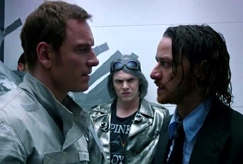 X-Men Days of Future Past, Charles Xavier, James McAvoy, Magneto, Michael Fassbender