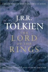 JRR Tolkien Lord of the Rings