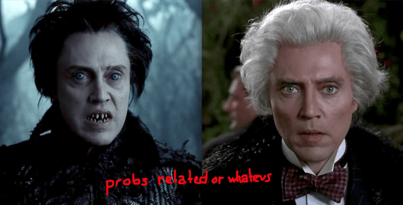 Headless Horseman, hessian, Sleepy Hollow, Max Shreck, Batman Returns