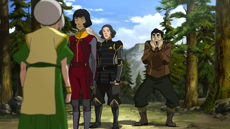 Legend of Korra Operation Beifong