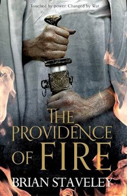The Providence of Fire Brian Staveley UK cover