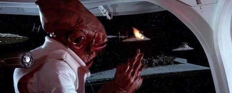 Star Wars, Return of the Jedi, Admiral Ackbar
